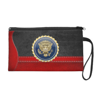 [600] Presidential Service Badge [PSB] Wristlet Purses