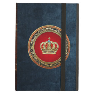 [600] Prince-Princess King-Queen Crown [Belg.Gold] iPad Air Covers