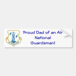 600px-US_Air_National_Guard_Insignia.svg, Proud... Bumper Sticker