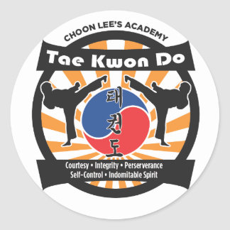 602 Choon Lee's Academy Stickers
