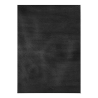 6089 chalkboard BLACK CHALK BOARD TEXTURE GRUNGE T 13 Cm X 18 Cm Invitation Card