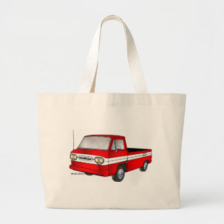 60-61 Corvair Rampside Pickup Large Tote Bag