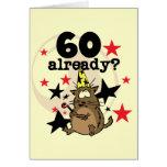60 Already Birthday Greeting Cards