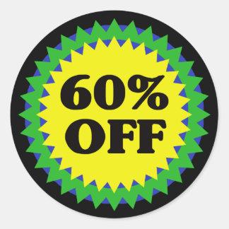 60% OFF RETAIL SALE Sticker