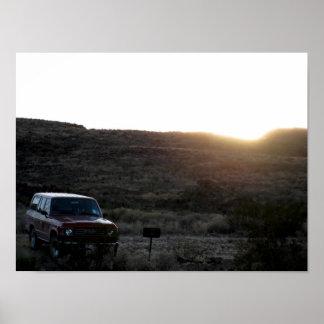 60 Series Toyota Land Cruiser Poster