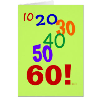 60 still accounting Accountant 60th Birthday Quote Card