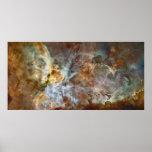"60""x30"" Hubble - Carina Nebula Star Birth Poster"