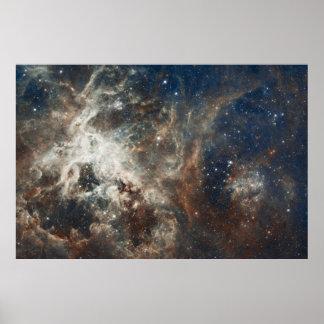 """60""""x40"""" Hubble Large Magellanic Cloud Nebula Print"""