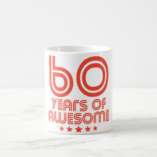60 Years Of Awesome 60th Birthday Coffee Mug