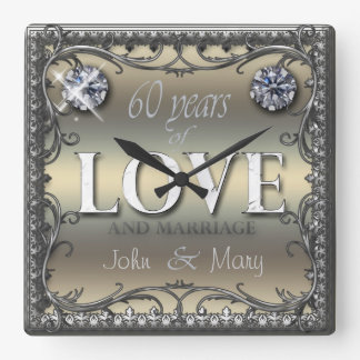 60 Years of Love ID196 Clocks