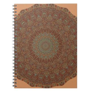 60's Bedspread Spiral Notebook