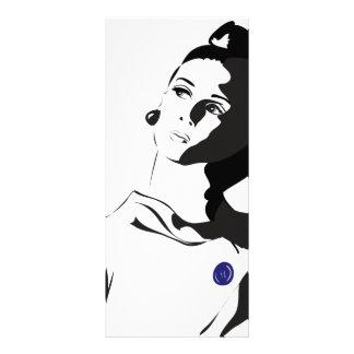 60's Lady Personalised Rack Card
