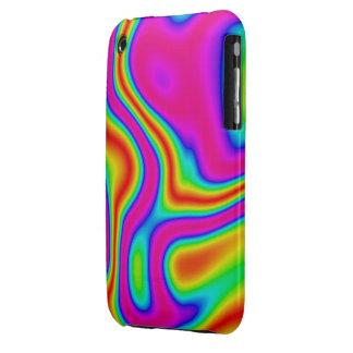 60s Liquid Color #1 iPhone 3G/3GS iPhone 3 Case-Mate Case