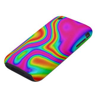 60s Liquid Color #1 iPhone 3G/3GS Tough iPhone 3 Tough Cover