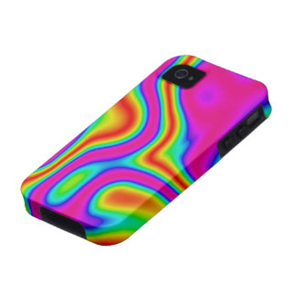 60s Liquid Color #1 iPhone 4 Tough iPhone 4/4S Covers