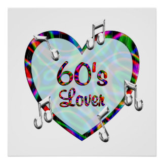 60s Lover Poster