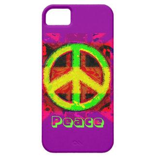 60's Peace Sign Retro Art iPhone Case
