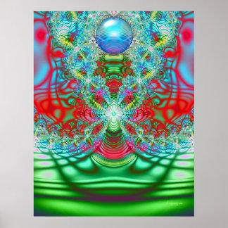 60's Rainbow Dream Poster