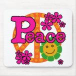 60s Style Peace Mousepad