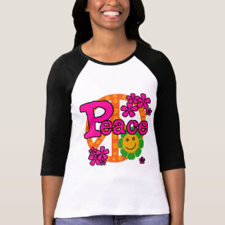 60s Style Peace T-shirts and Gifts