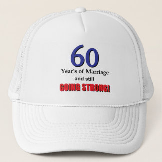 60th Anniversary Trucker Hat