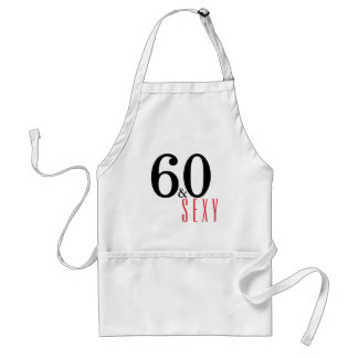 60th Birthday Cooking and Grilling Apron