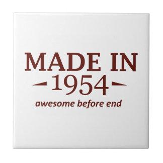 60th birthday designs ceramic tile