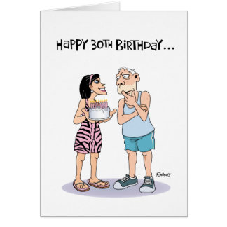 60th Birthday Funny Male Greeting Cards