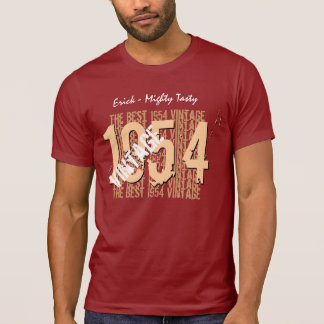 60th Birthday Gift Best 1954 or ANY YEAR Vintage A T-Shirt