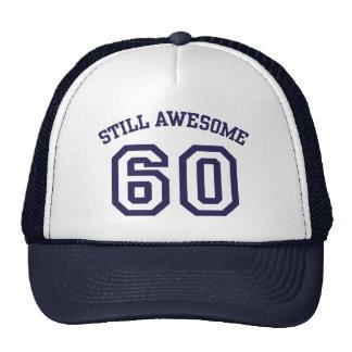 60th Birthday Mesh Hats
