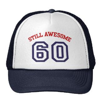 60th Birthday Mesh Hat