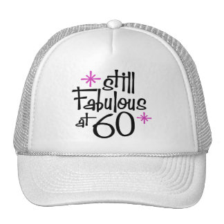 60th Birthday Hats