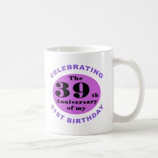 60th Birthday Humor Coffee Mug