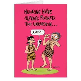 60th Birthday: Man's Primal Fear Card