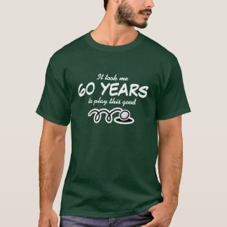 60th Birthday shirt for men | Golf joke
