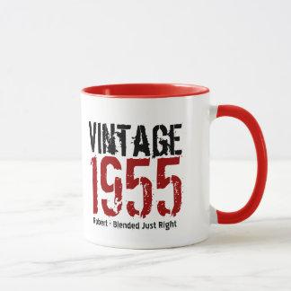 60th Birthday Vintage 1955 or Any Year V01I Mug