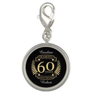 60th Wedding ANNIVERSARY diamond yellow