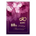 60th Wedding Anniversary Greeting Cards