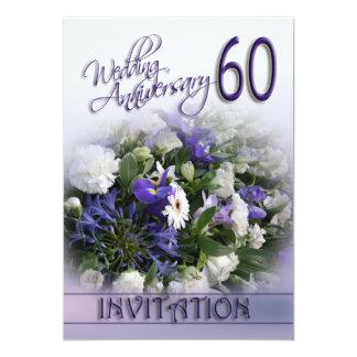 60th wedding anniversary invitations announcements. Black Bedroom Furniture Sets. Home Design Ideas
