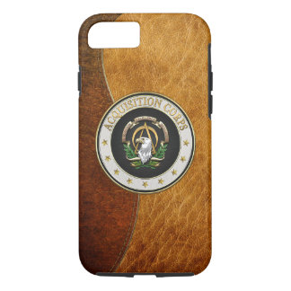 [610] Acquisition Corps (AAC) Branch Insignia [3D] iPhone 8/7 Case