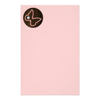 6121_pink-butterfly-wood WOODEN PINK DIAMOND BUTTE Stationery