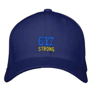 617 Strong Embroidered Hat