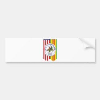 619th Tactical Control Squadron W/Flags Bumper Stickers