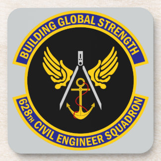 628th Civil Engineer Squadron Drink Coasters