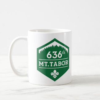 636th Mt. Tabor — Green Logo Mug