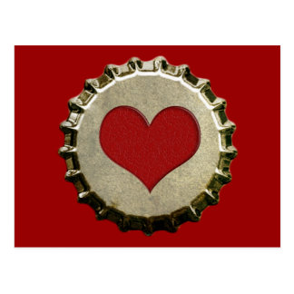 6375_red-heart-bottle-cap-topGraphic RED HEART BOT Postcard