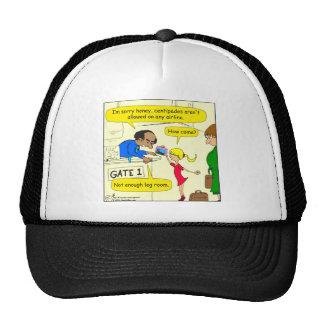 639 no leg room on airlines cartoon cap