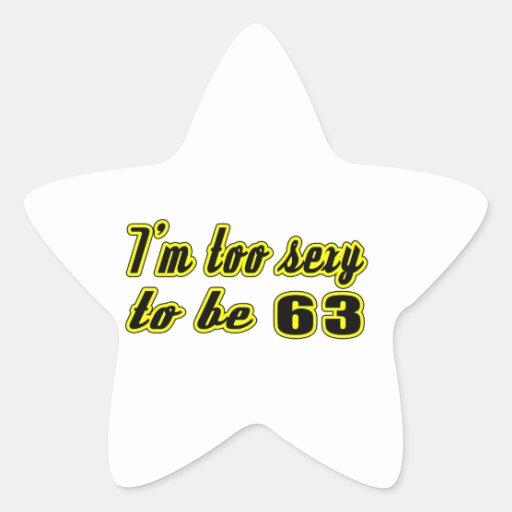 63 birthday designs stickers