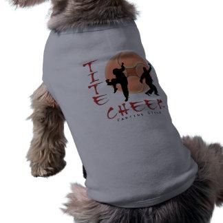 [63] Tight Cheek: Farting Style Sleeveless Dog Shirt