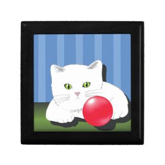 63White Cat_rasterized Gift Box